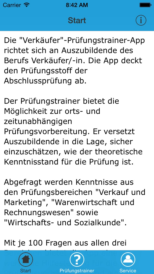 Screenshot for Verkäufer – Prüfungstrainer in Germany App Store