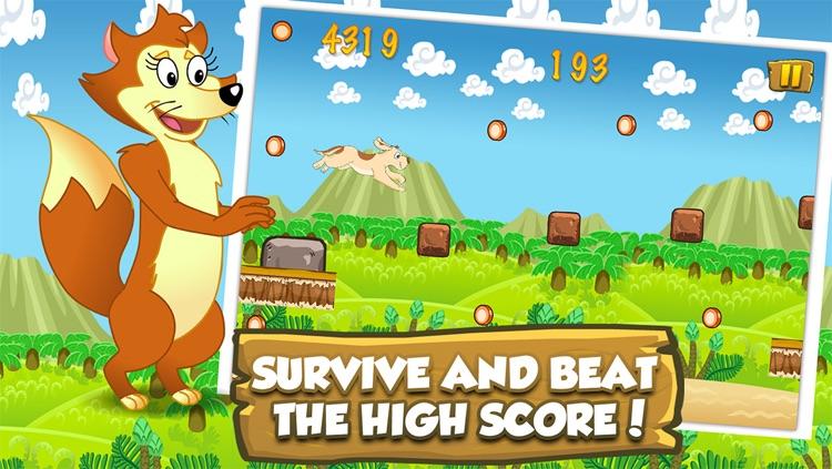 Farm Animal Runners - Lost In The Wilderness Adventure screenshot-4