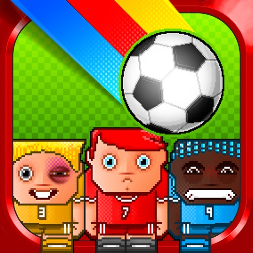 Blocky Soccer Goal Kick Defence World Champions League