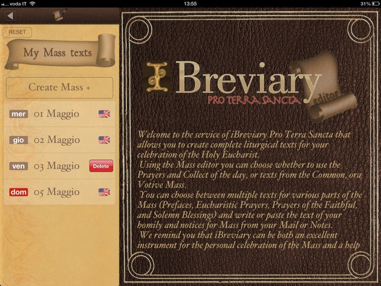 iBreviary Pro Terra Sancta HD screenshot-2