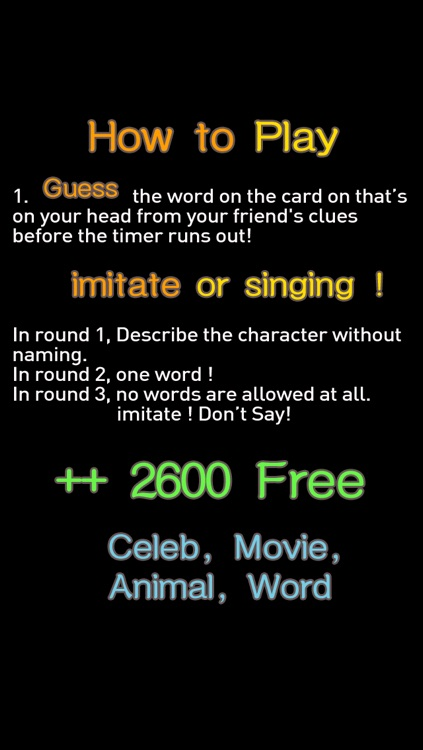 CelebParty : Guess the Celeb who's what's word? up Charades free heads screenshot-3