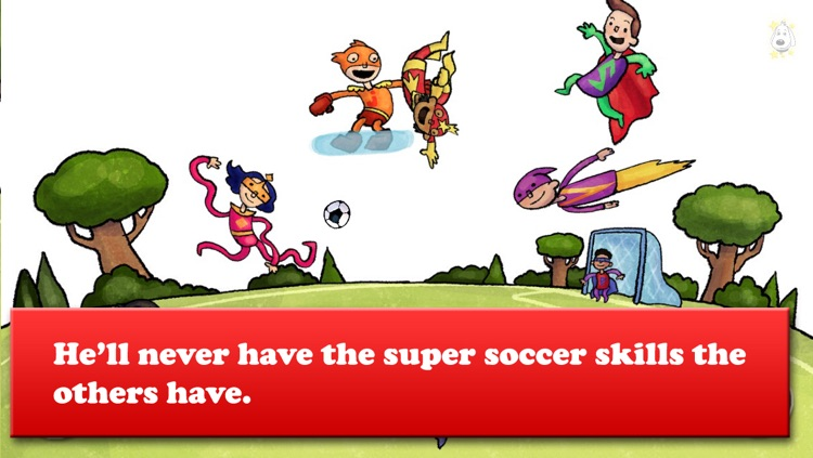 Brave Rooney and the Super-Sized Superheroes - Soccer, Healthy eating, and more - Bacciz
