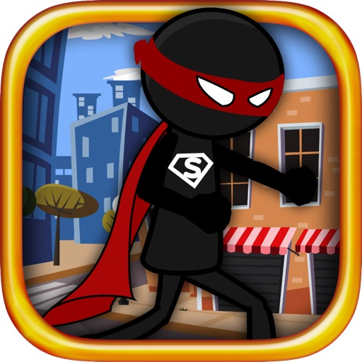 Super Hero Stickman Rescue iOS App