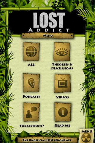 LOST ADDICT - The Unofficial LOST iPhone Fan APP screenshot-4