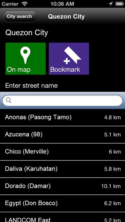 Offline Manila, Philippine Map - World Offline Maps screenshot-4