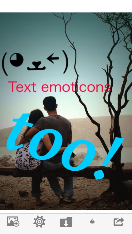 Add Text to Images - Words, Bubble Captions, Emoticon Line Art & Stickers screenshot-3