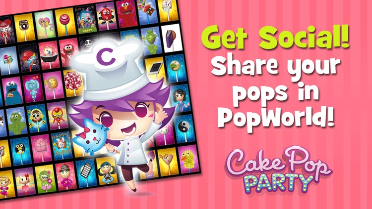 Cake Pop Party: Be CReAtiVe! screenshot-3