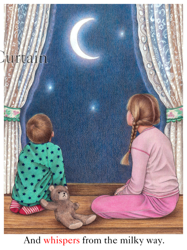 Love You To The Moon Back An Interactive Bedtime Book For Kids By