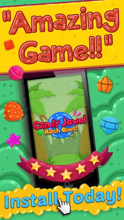 Galaxy Of Jewel - Match-3 Puzzle For Kids FREE screenshot-4