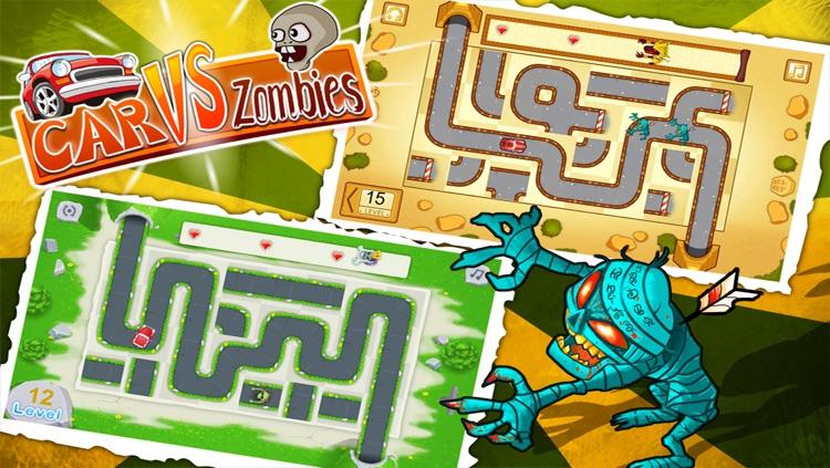 Car vs Zombies Free screenshot-3
