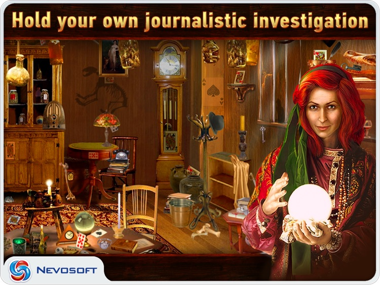 Mysteryville HD Lite: hidden object investigation screenshot-0