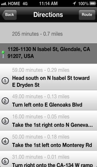 Freeway Finder screenshot three