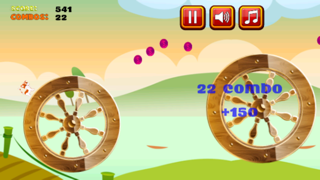 A Cute Kitten Jump Adventure Game: Blast Kitty from Cannon to Spinning Wheels Screenshot on iOS