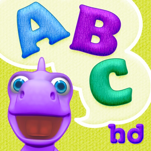 ABCs with Dally Dino HD - Preschool Kids Learn the Alphabet with A Fun Dinosaur Friend icon