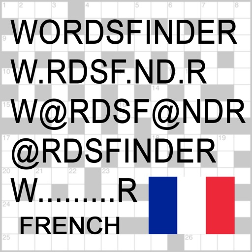 F Words Finder Français/French PRO - find the best words for crossword, Wordfeud, Scrabble, cryptogram, anagram and spelling