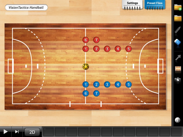 VisionTactics Handball screenshot-3