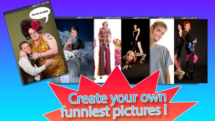 Funny Photo Studio - 2 Faces