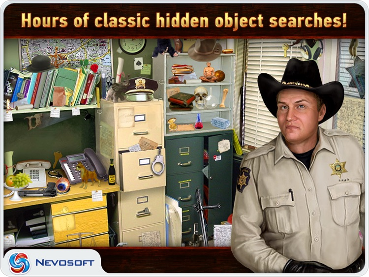 Mysteryville HD Lite: hidden object investigation screenshot-2