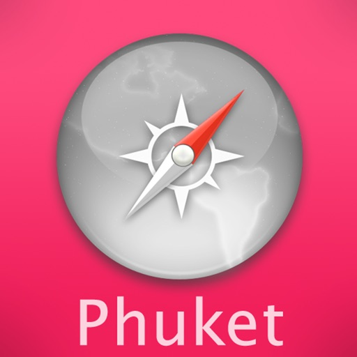 Phuket Travel Map (Thailand)