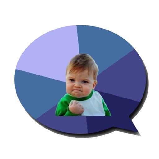 Meme Comment - make a cool meme pic - impressive your Facebook cmt - Free Ver iOS App