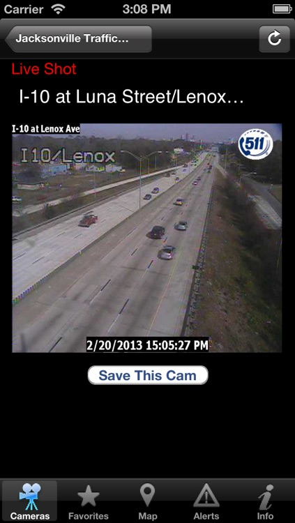 Jacksonville Traffic Cams screenshot-1