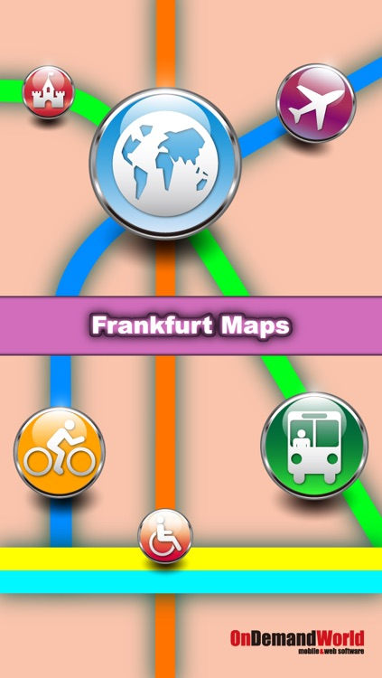 Frankfurt Maps - Download Maps and Tourist Guides.