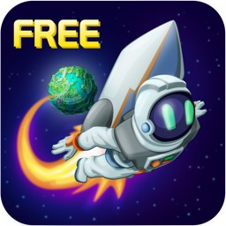 Gravity Astronaut Jump - An out there lost in space travel adventure