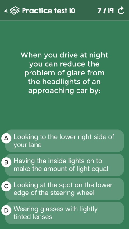 US Driving Knowledge Test Questions - Preparation for your Driver's License Written Exam - All States - DMV, DOL, or MVC - Free Drivers' Mock Tests