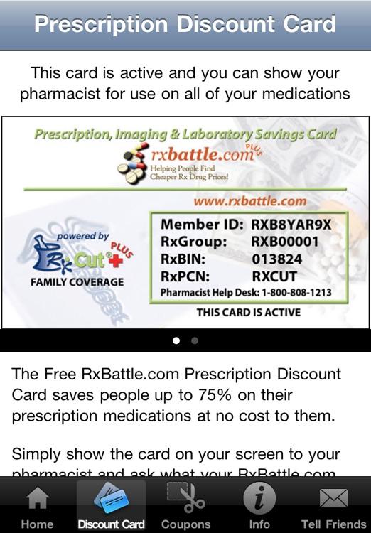RxBattle Prescription Drug Saver