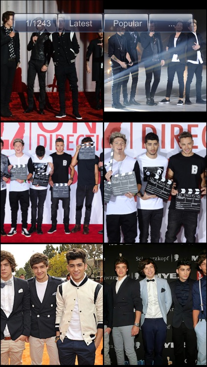 Wallpapers for One Direction screenshot-3
