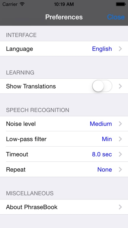 English-Romanian Talking Travel Phrasebook screenshot-3