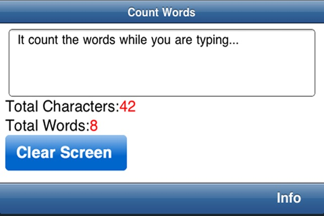 Count Words \u0026 Characters on the App Store