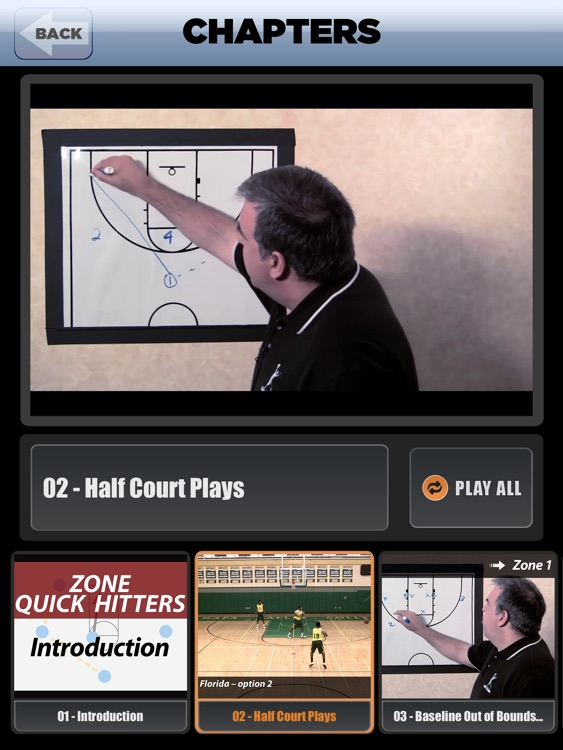 Zone Offense Quick Hitters: Scoring Playbook - with Coach Lason Perkins - Full Court Basketball Training Instruction XL screenshot-2