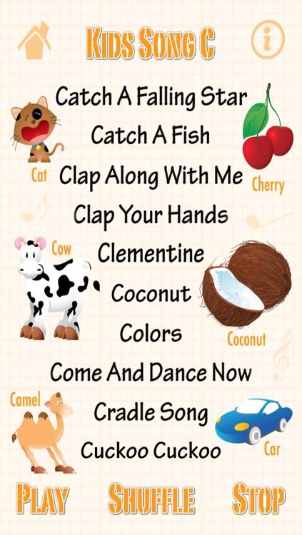 Kids Song C - Babies Learn English Words   Child English Songs screenshot-1 232391781ba