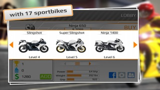 Screenshot #7 for Drag Racing: Bike Edition