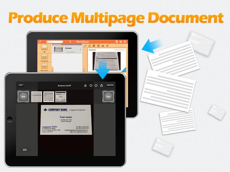 WorldScan HD - Scan Documents & PDF