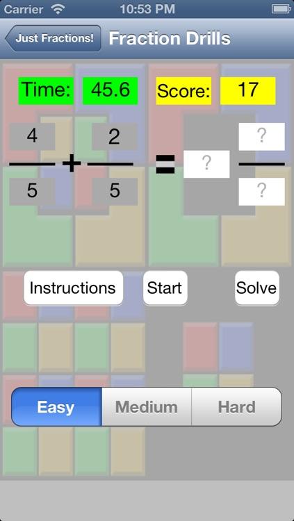 Just Fractions screenshot-3