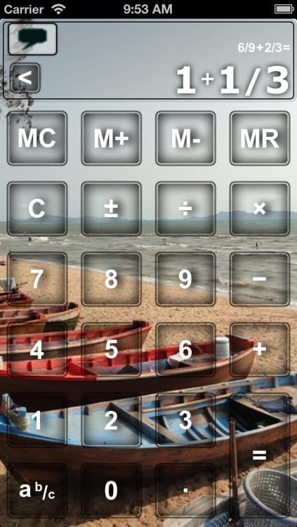 Scientific Fraction Calculator