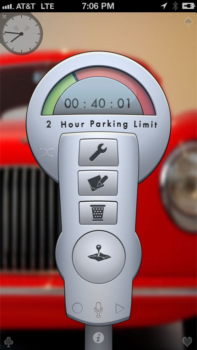 Screenshot #6 for Honk - Find Car, Parking Meter Alarm and Nearby Places