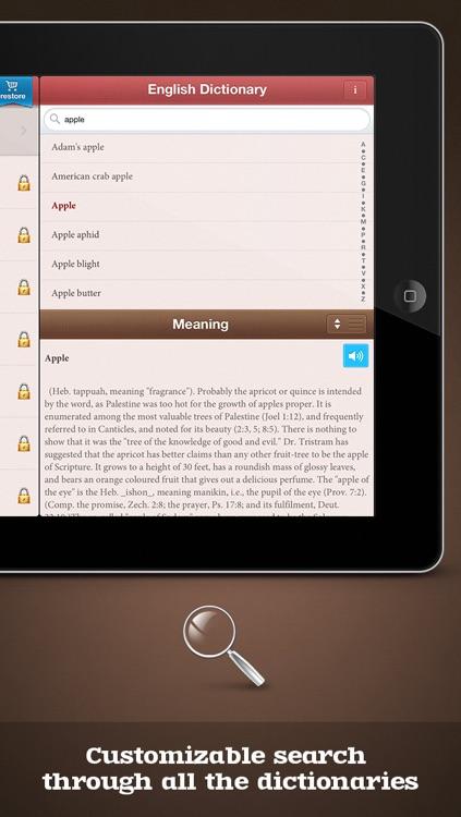 Pocket Dictionary 25in1 lite screenshot-3