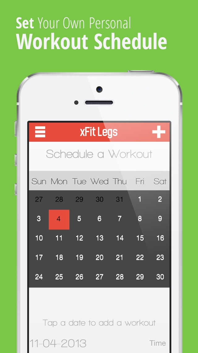 xFit Legs – Daily Workout for Tight Sculpted Thighs, Calves and Muscles screenshot four