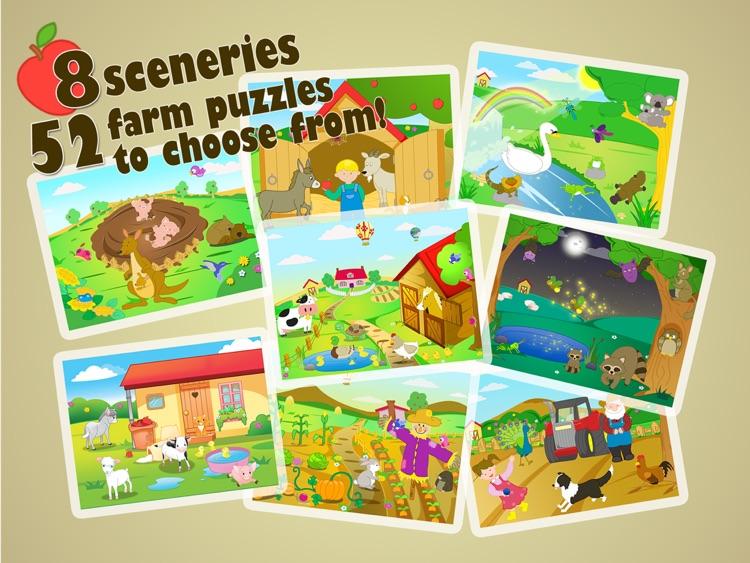 Farm Jigsaw Puzzles 123 iPad screenshot-4