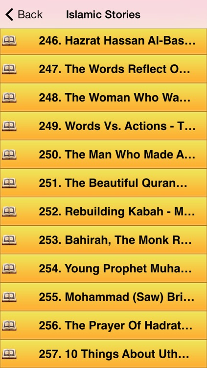 250 Islamic Stories (Pro) - Muslim Stories, Signs of Allah, Quran, Hadith & Islam screenshot-4