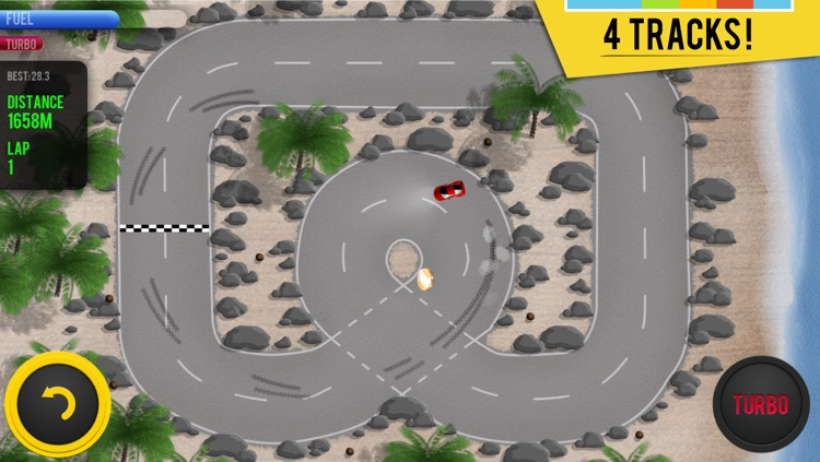 Micro Racing - arcade cars challenge screenshot-2