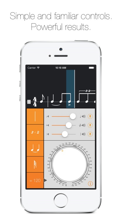 Rhythm Calculator - Advanced rhythm trainer and metronome screenshot-1