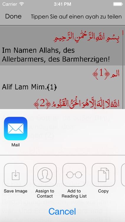 Quran German screenshot-4