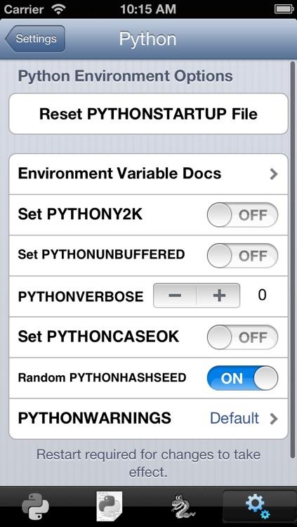 Python 3.3 for iOS