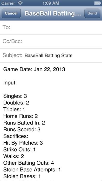 MyBaseball Batting Stats screenshot-4
