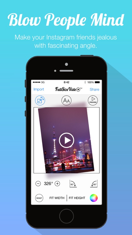 Full Size Video - Post Entire Videos Clip on Instagram withont Square Cropping