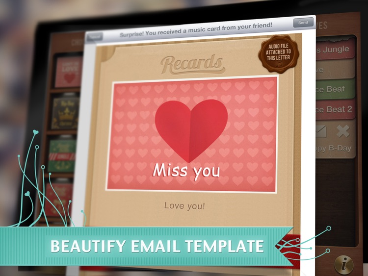 Recards - Your Personalized Voice Recorded Music Cards screenshot-4